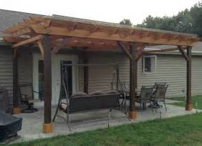 Diy Fabric Patio Cover Ideas by Covered Pergola Plans Design Diy How To Build 12 X24