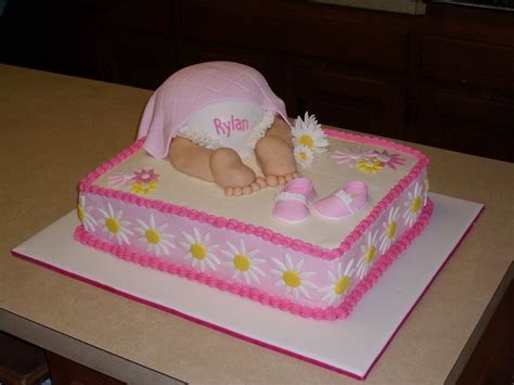 Baby Shower Sheet Cakes For by Baby Shower Sheet Cakes For Pink Baby Bottom