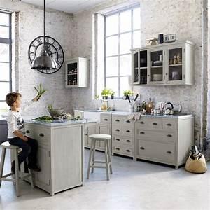 Table De Cuisine Maison Du Monde : cucina maison du monde angolata arredamento shabby ~ Teatrodelosmanantiales.com Idées de Décoration