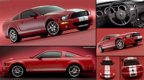 ford shelby svt cobra gt mustang show car