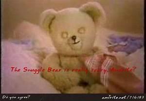 snuggle bear creepy