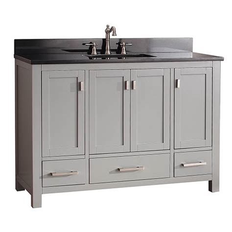 48 Inch Black Bathroom Vanity Without Top by Sale Save 15 Your 1st Order