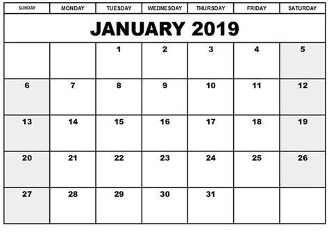 blank calendar january blank calendar january word