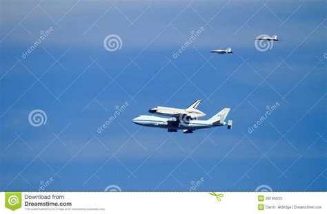 Space Shuttle Endeavour's Last Ride Editorial Stock Photo ...