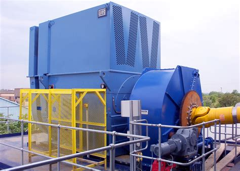 Largest Electric Motor by Powering The World S Largest Industrial Shredder
