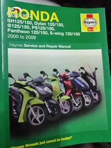 Servisn U00ed Manu U00e1l Honda Sh  Dylan    Ps  S