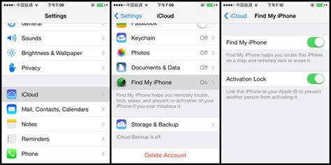 how to turn find my iphone without icloud password important information about apple s new ios7
