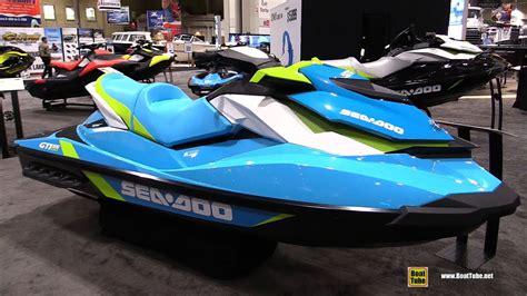 jet ski seadoo 2016 sea doo gti 130 jet ski walkaround 2016 toronto boat show