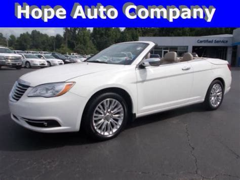 2011 Chrysler 200 Limited by Buy Used 2011 Chrysler 200 Limited In 1700 N Hervey St