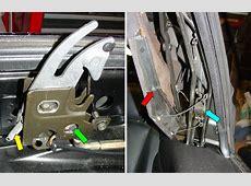 Pelican Technical Article BMW Convertible Top Adjustment
