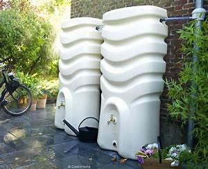 Recuperateur Eau De Pluie Mural : installer un r cup rateur d eau de pluie pour un arrosage ~ Dailycaller-alerts.com Idées de Décoration