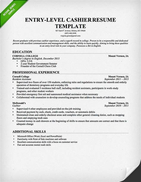 Your Own Resume by Resume Template Resume And Resume Templates On