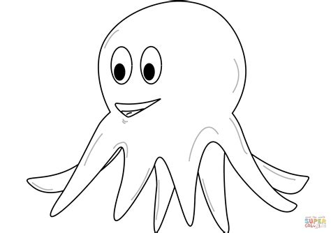 Octopus Kleurplaat by Octopus Coloring Page Free Printable Coloring Pages