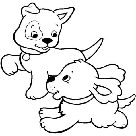 immagini cani da colorare per bambini disegno di cuccioli di da colorare per bambini