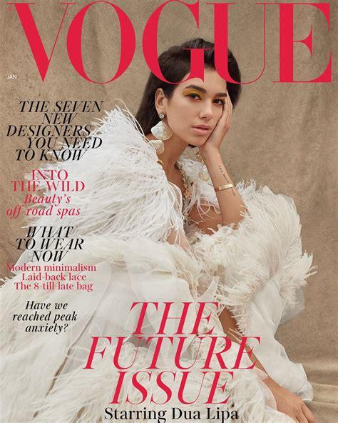 Dua Lipa Covers British Vogue - That Grape Juice
