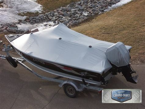 Crestliner Boat Mooring Covers by Snap On Canvas Craft