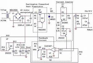 12v 10a Switching Power Supply Circuit Diagram