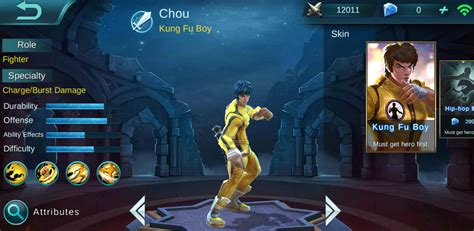 chou mobile legend wallpaper mobile legend chou gudang wallpaper