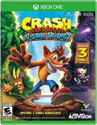 Crash Bandicoot N Sane Trilogy For Xbox One GameStop