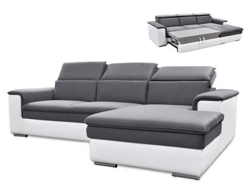 canapé d angle convertible avec tetiere canapé d 39 angle convertible connor avec têtières relax 3