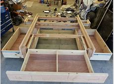 » plans for building a king size bed frame with