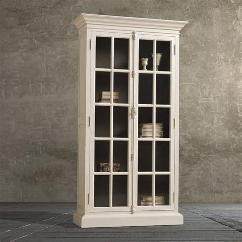 wood bookcase with glass doors furniture white wooden tall book cabinet with glas door