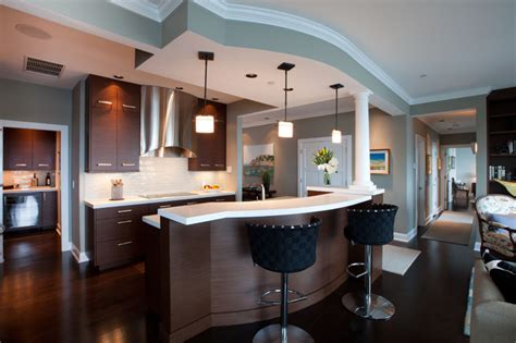 floor cabinets for kitchen penthouse on the river contemporary kitchen boston 7242