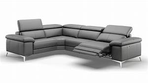 Günstige Sofas Mit Schlaffunktion : eckcouch grau leder ~ Bigdaddyawards.com Haus und Dekorationen