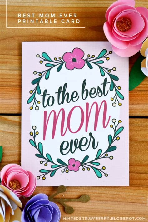 mothers day printables pretty  party party ideas