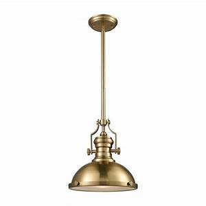 Titan lighting chadwick light satin brass with frosted