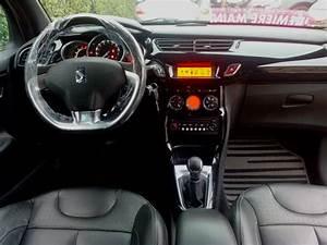 Citroen Ds3 Interieur : superbe citroen ds3 hdi 92cv so chic 04 2010 35000kms vendu le 11 01 2014 class auto 69 ~ Gottalentnigeria.com Avis de Voitures