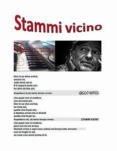Stammi Vicino Di Vasco Rossi