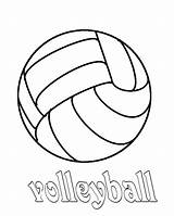 Volleyball Coloring Pages Court Drawing Quotes Sport Preschool Getdrawings Colornimbus sketch template