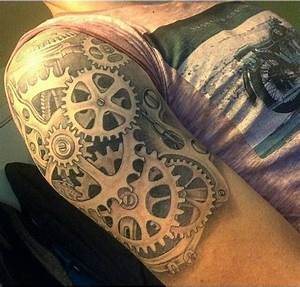 Pin by Amber Winter on ️INK   Gear tattoo, Sleeve tattoos ...