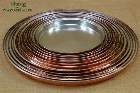 copper  shallow baking pan