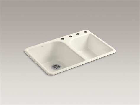 kohler executive chef sink biscuit standard plumbing supply product kohler k 5932 4 96