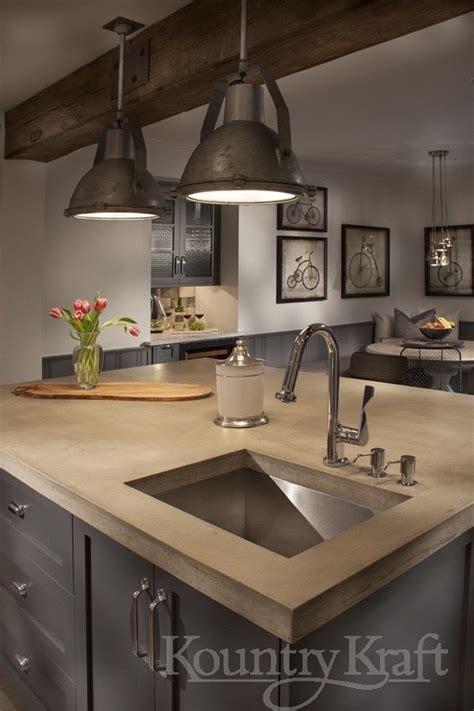 custom kitchen cabinets designed galen clemmer kountry kraft industrial style