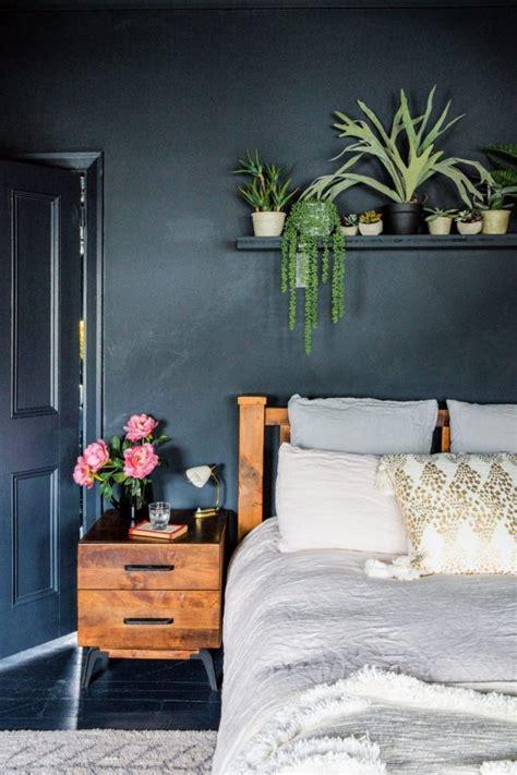 dark bedroom ideas moody dark  stormy hues  modern