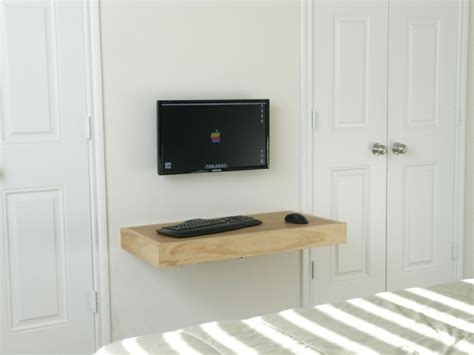 meuble de bureau moderne bureau suspendu 25 exemples de petits meubles pratiques