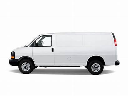 Gmc Savana Motortrend Van Side Cargo 2500