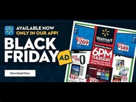 walmart black friday ad deals  youtube