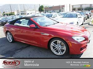 2013 Imola Red BMW 6 Series 650i Convertible #71062825
