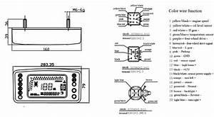 Jx500utv Digital Meters Of Motorcycle Parts