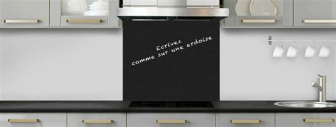 cr ence cuisine ardoise crédence de cuisine noir mat effet ardoise c macredence com