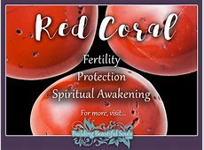 Coral Meaning & Properties Healing Crystals & Stones