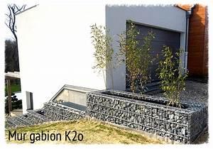 Mur En Gabion : gabion k2o mur de sout nement gabion ~ Premium-room.com Idées de Décoration