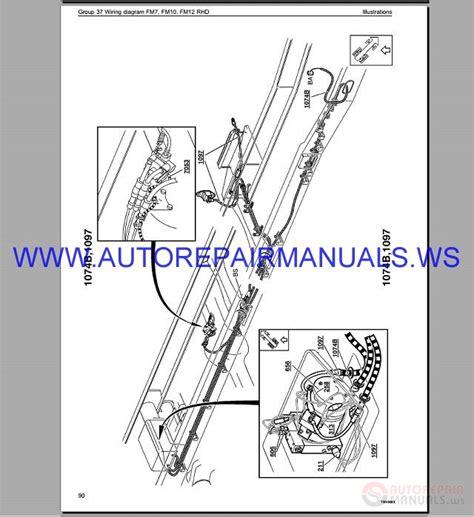 Volvo Trucks Wiring Diagram Service Manual Auto