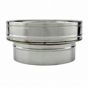 Tubage Inox Double Paroi 150 : adaptateur conduit simple double paroi pro 100 150 ~ Premium-room.com Idées de Décoration