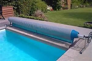 Bache A Barre Pour Piscine : enrouleur bache a bulle pour piscine jusqu 39 a 4 6m neuf ebay ~ Nature-et-papiers.com Idées de Décoration