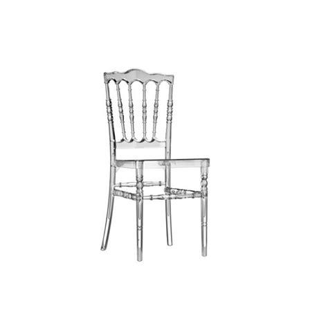 chaise cristal chaise zeus cristal sabannes réception